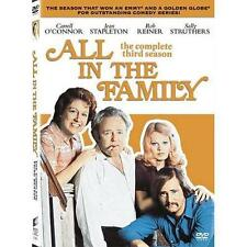 All in the Family The Complete Third Season (3 DVD Set) CARROL O'CONNOR FREE S&H