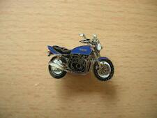 Pin Anstecker Yamaha XJR 400 / XJR400 blau blue Motorrad Art. 0404