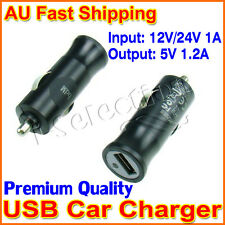 Premium Universal USB Car Charger Adapter 5V 1.2A for iPhone Samsung HTC Sony