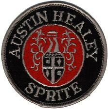 Austin Healey Sprite (Bugeye - Frogeye) embroidered patch