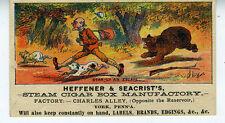 1890s Trade Card Hefffener & Seacrist York PA Cigar Box Factory Labels (1)