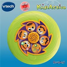 vTech KidiActive Talking Interactive Flying Disc - 5 Games - Speaks and Sings