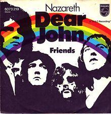 "7"" Nazareth – Dear John / Friends // Germany 1972"
