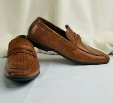 Giorgio Brutini Memory Foam Men's Slip on Henry Cognac Color Shoes Size 10.5 NEW