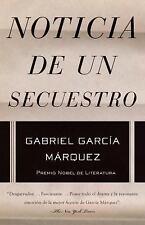 Noticia de un secuestro (Vintage Espanol) (Spanish Edition)