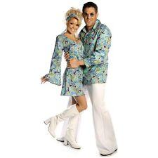 Swinging Sixties A-Line Hippy Dress Mod L UK 12-14 Costume Fancy Dress Paisley