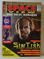 6/1996 SPACE VIEW   AKTE X - KURT RUSSELL  VOYAGER  STAR TREK - STAR WARS  (SV9)