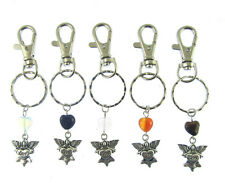 """GUARDIAN ANGEL"" LARGE  KEYRING with lobster clip Love"