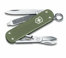 0.6221.L17 Victorinox Swiss Army Knife Classic Alox OLIVE Limited Edition 2017