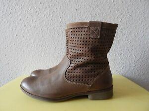 Übergang  Boots Stiefeletten  Camel Active Gr.5 Leder