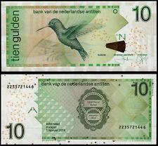 NETHERLANDS ANTILLES 10 GULDEN (P28g) 2014 UNC
