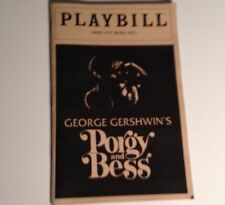 Playbill 1983 Porgy and Bess Radio City Music Hall Shirley Baines NYC Theater