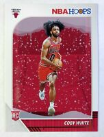 2019-20 Panini NBA Hoops Winter Coby White Rookie RC #204, Chicago Bulls