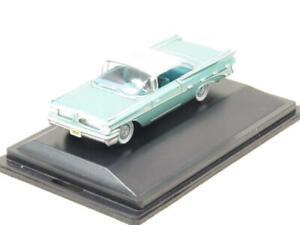 Oxford Diecast 87PB59003 Pontiac Bonneville Coupe 1959 Green 1 87 Scale Boxed