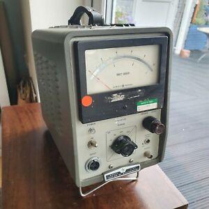Vintage Hewlett Packard HP 428B Clip On DC Milliammeter
