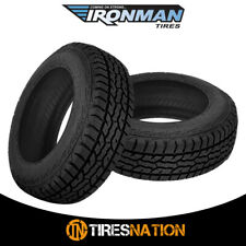 (2) New Ironman All Country A/T 245/75/17 121/118Q All Terrain Truck SUV Tire