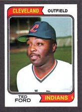 1974 Topps #617 Ted Ford  CLEVELAND INDIANS  NM    B