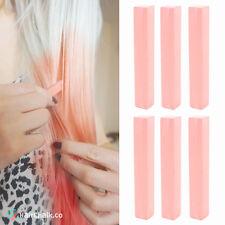 Best Champagne Pink Hair Dye | LIGHT SALMON - 6 Salmon Pink DIY Hair Chalks