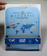 Luckies of London Magnetic World Map (47 x 21 cm) [3001]