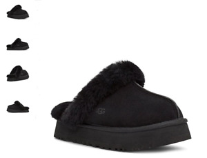 UGG Disquette Black Suede Clog Style 1122550 Women's US Sizes 5-11 NEW!!!