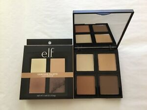 e.l.f. Elf Contour Palette Light / Medium 4 Shades 0.56 oz with Vitamin E (elf2)