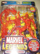 SEALED  Marvel Legends Series 2 Human Torch Action Figure