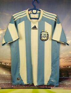 Argentina Jersey 2010 2011 Home Kids Boys 13-14 Shirt Soccer Adidas