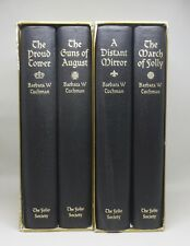 THE COMING OF THE GREAT WAR & THE MIRROR OF THE PAST ~ Tuchman ~ Folio Society