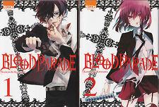 BLOOD PARADE tomes 1 et 2 Karasawa MANGA shonen SERIE COMPLETE