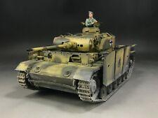 1/35 Built Takom 8002 WWII German Panzer III Ausf.L Kursk 1943 Tank Model