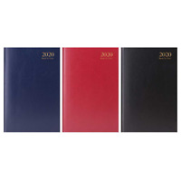 2020 A5 Week to View Desk Diary/Hard Back Diary