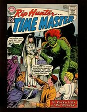 Rip Hunter...Time Master #10 FN+ Ely Corky Bonnie Jeff Time Travel Sci-Fi
