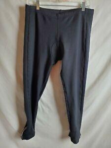 Canari Men's Capri Padded Cycling Pants Tights Size XL Black