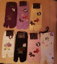 Japanese Tabi toe socks - 7 sets