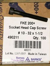 NEW BARNES 7//16-20 X 7//16 SOCKET SET SCREWCUP POINT 100PCS 40490-1