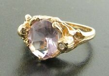 14 Carat Amethyst Yellow Gold Fine Jewellery