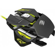 Mad Catz Consejo pro s gaming mouse negro-amarillo Optical mouse Plug & Play PC nuevo!