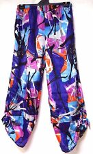 plus sz S / 16 TS TAKING SHAPE Carnivale Pants super-light silky colourful NWT!
