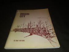 Rogers City Michigan Centennial History 1971