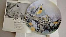 Bradford Exchange -Mothers Melody- Collectors Plate by Lena Liu - 1991 -