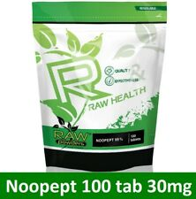 RAW Health 100 tab * 30mg | Nootropic, Nootropika | Concentratrion Memory Focus
