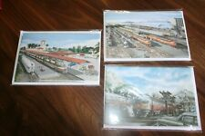 Christmas Cards Train Theme Three Boxes 5 Each Greeting Cards