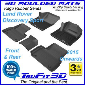 Fits Land Rover Discovery Sport 2015 - 20 TruFit 3D Kagu Rubber Car Floor Mats
