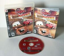 Cars Mater-National Championship (Sony PlayStation 3 / PS3) Complete Kids Disney