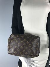 Auth Vintage Louis Vuitton Monogram  Trousse Toilette Cosmetic Pouch Bag