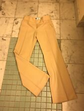 Dolce and Gabbana Cream Wool Trousers Size 38