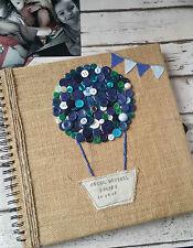 Baby memory book first year photo album scrapbook boy girl newborn gift present
