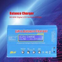 B6 Netzteil Ladegerät Batterie Balance Charger Discharger für Li-Po NiMH RC Akku