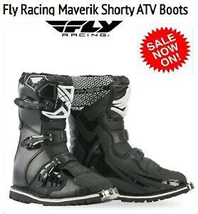 Fly Racing Maverik Shorty ATV Boots NEW SHORT Mens Motocross Dirt Bike Boots MX