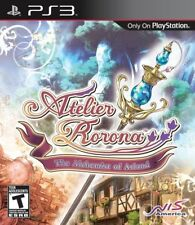 Atelier Rorona: The Alchemist of Arland (Complete, PS3, PlayStation 3) FAST SHIP